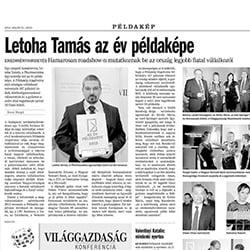 Harangvölgyi Institute Budapest a médiában