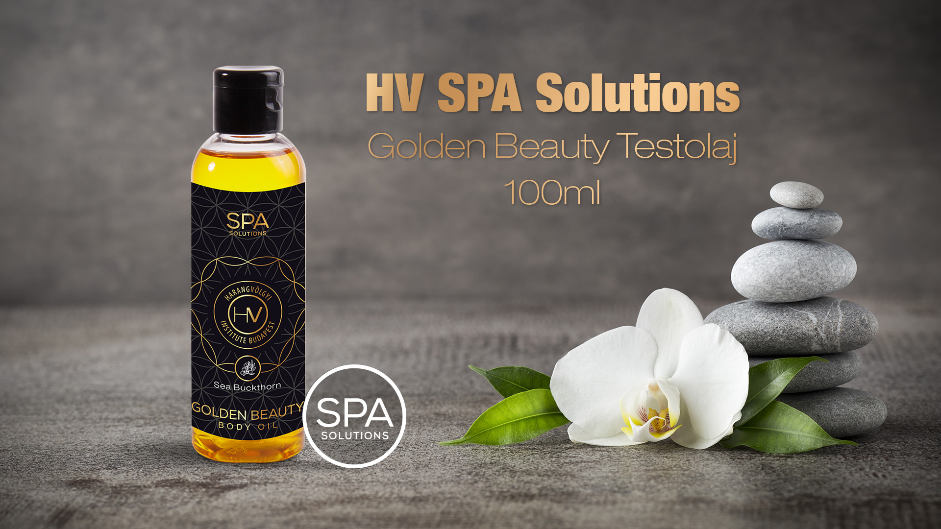 HV SPA Solutions Golden Beauty Testolaj