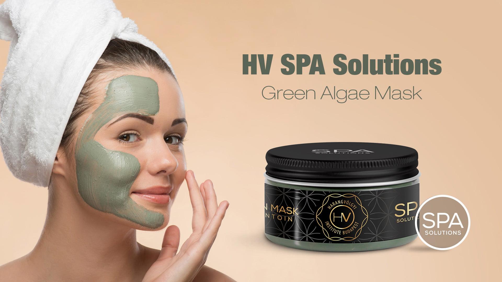 HV SPA Solutions Green Algae Mask