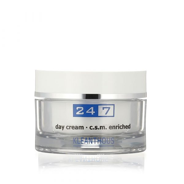 KLEANTHOUS 24/7 Day Cream c.s.m enriched 50 ml - nappali krém