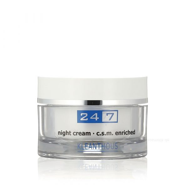 KLEANTHOUS 24/7 Night Cream c.s.m enriched 50 ml - éjszakai krém